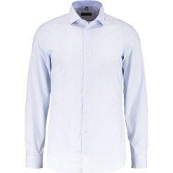 Koszule męskie na spinki: Eterna SLIM FIT HAI AUSPUTZ Koszula biznesowa hellblau