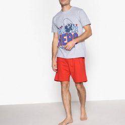Piżamy męskie: Piżama z szortami z nadrukiem