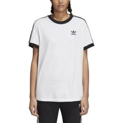 KOSZULKA ADIDAS 3STRIPES TEE CY4754. Szare t-shirty damskie Adidas. Za 119,00 zł.