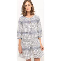Sukienki: Sukienka z nadrukiem