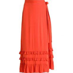Spódniczki: Second Female VIGA SKIRT Spódnica z zakładką orange rust
