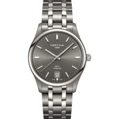 RABAT ZEGAREK CERTINA GENT QUARTZ C022.610.44.081.00. Szare zegarki męskie marki CERTINA. W wyprzedaży za 1839,20 zł.