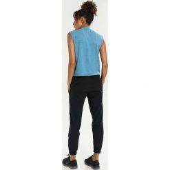 Topy sportowe damskie: Nike Performance MOCK RUNNING DIVISION Koszulka sportowa blue