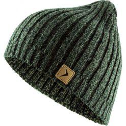 Czapka męska CAM604 - khaki melanż - Outhorn. Brązowe czapki zimowe męskie Outhorn. Za 24,99 zł.
