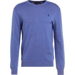 Polo Ralph Lauren Sweter haven blue heather. Niebieskie swetry klasyczne męskie marki Polo Ralph Lauren, m, z bawełny, polo. W wyprzedaży za 412,30 zł.