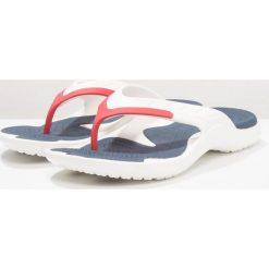 Crocs MODI SPORT FLIP Japonki kąpielowe white/navy/pepper. Białe kąpielówki męskie marki Crocs, z gumy. Za 129,00 zł.