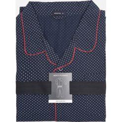 Piżama dwuczęściowa - Granatowy. Niebieskie piżamy męskie Reserved, l. Za 129,99 zł.