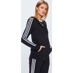 Adidas Originals - Bluza. Czarne bluzy rozpinane damskie adidas Originals, s, z bawełny, z kapturem. W wyprzedaży za 239,90 zł.