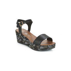 Sandały Betty London  PRETA. Czarne sandały damskie marki Betty London. Za 246,80 zł.