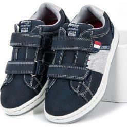 Wygodne buty dla chłopca AISHA. Niebieskie buty sportowe chłopięce American CLUB. Za 89,90 zł.