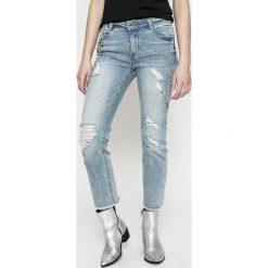 Morgan - Jeansy PTRACY PANTALON. Niebieskie jeansy damskie marki Morgan. W wyprzedaży za 199,90 zł.