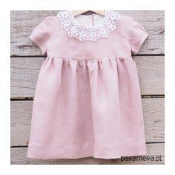 Sukienka lniana Little Susie. Różowe sukienki dziewczęce Pakamera. Za 199,00 zł.