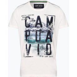 Camp David - T-shirt męski, czarny. Czarne t-shirty męskie z nadrukiem Camp David, m, z bawełny. Za 139,95 zł.