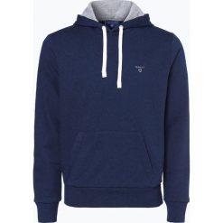 Bluzy męskie: Gant – Męska bluza nierozpinana, niebieski