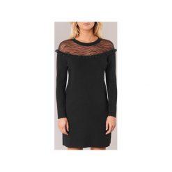Sukienki krótkie Morgan  RDALI. Sukienki małe czarne marki Morgan, l, z krótkim rękawem. Za 216,30 zł.