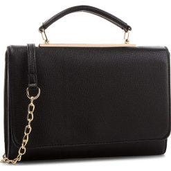 Torebka JENNY FAIRY - RC12699 Black. Czarne torebki klasyczne damskie Jenny Fairy, ze skóry ekologicznej. Za 79,99 zł.