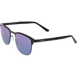 """Okulary przeciwsłoneczne męskie: Okulary męskie """"Archer"""" w kolorze czarno-niebiesko-zielonym"""