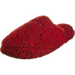 """Kapcie damskie: Kapcie """"Teddy Mule"""" w kolorze czerwonym"""
