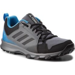 Buty adidas - Terrex Tracerocker Gtx GORE-TEX AC7938  Grefiv/Cblack/Brblue. Szare buty sportowe męskie Adidas, z gore-texu, do biegania, adidas terrex, gore-tex. W wyprzedaży za 279,00 zł.