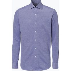 Koszule męskie na spinki: Finshley & Harding – Koszula męska – Black Label, niebieski