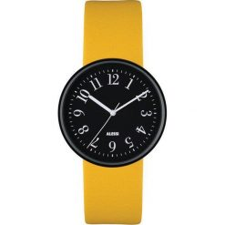 Zegarki męskie: Zegarek Record męski z wymiennymi paskami żółtym i fioletowym