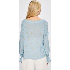 Answear - Bluzka Garden of Dreams. Szare bluzki nietoperze marki TOMMY HILFIGER, m, z nadrukiem, z bawełny, casualowe, z okrągłym kołnierzem. W wyprzedaży za 79,90 zł.