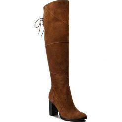 Muszkieterki EVA MINGE - Adelmira 2H 17SM1372216EF 837. Brązowe buty zimowe damskie marki Eva Minge, ze skóry, na obcasie. W wyprzedaży za 329,00 zł.