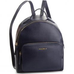 Plecak COCCINELLE - DF5 Clementine E1 DF5 14 01 01 Bleu B11. Niebieskie plecaki damskie Coccinelle, ze skóry. Za 1249,90 zł.