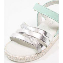 Friboo Sandały turquoise. Czerwone sandały chłopięce marki Friboo, z materiału. Za 169,00 zł.