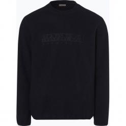 Napapijri - Męska bluza nierozpinana – Tame, niebieski. Szare bluzy męskie marki Napapijri, l, z materiału, z kapturem. Za 499,95 zł.