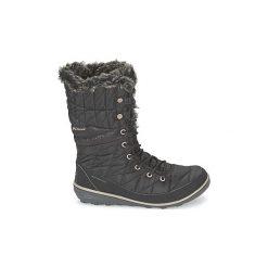 Śniegowce Columbia  HEAVENLY OMNI HEAT. Czarne buty zimowe damskie Columbia. Za 499,99 zł.