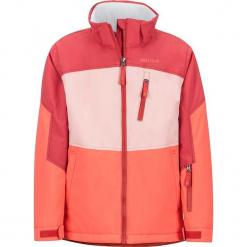 """Kurtka narciarska """"Elise"""" w kolorze czerwonym. Czerwone kurtki dziewczęce przeciwdeszczowe marki Reserved, z kapturem. W wyprzedaży za 302,95 zł."""
