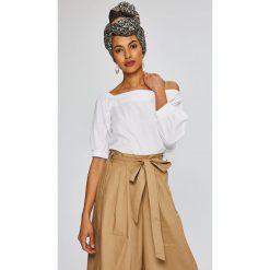 Medicine - Bluzka African Beauty. Szare bluzki asymetryczne MEDICINE, l, z bawełny, casualowe. W wyprzedaży za 39,90 zł.