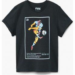Odzież dziecięca: Mango Kids – T-shirt dziecięcy Fifa 104-164 cm