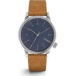 Zegarek Komono Winston Blue Cognac. Czarne zegarki męskie marki KIPSTA, m, z elastanu, z długim rękawem, na fitness i siłownię. Za 340,00 zł.