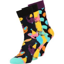 Happy Socks PARTY ANIMAL SINGING BIRTHDAY GIFT BOX 3 PACK Skarpety dark blue. Niebieskie skarpetki męskie marki Nike Performance, z materiału. Za 129,00 zł.