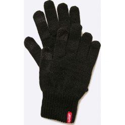 Levi's - Rękawiczki. Brązowe rękawiczki damskie Levi's®, z bawełny. Za 89,90 zł.