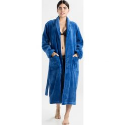 Vossen FEELING Szlafrok deep blue. Niebieskie szlafroki męskie marki Vossen, l, z bawełny. Za 429,00 zł.
