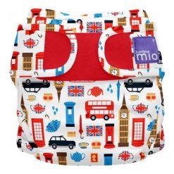 Chinosy chłopięce: Bambinomio Spodnie Pieluchowe Great Britain Vel. 1