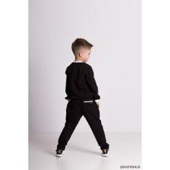 Dresy chłopięce: Spodnie dresowe eleganckie czarne