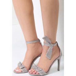 Sandały damskie: Szare Sandały Serendipity
