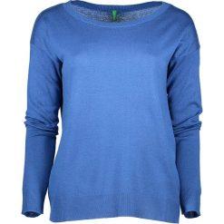 Swetry oversize damskie: Sweter w kolorze niebieskim