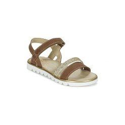 Sandały Dziecko  Citrouille et Compagnie  GIPPO. Czerwone sandały dziewczęce marki Born2be, z materiału, z otwartym noskiem, na zamek. Za 134,30 zł.