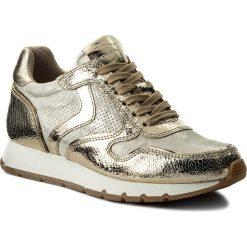 Sneakersy VOILE BLANCHE - Julia 0012012272.03.9126 Platino/Auorio. Szare sneakersy damskie Voile Blanche, z materiału. W wyprzedaży za 499,00 zł.