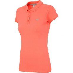4f Koszulka damska pomarańczowa r. XS (H4L17-TSD017). Brązowe topy sportowe damskie marki 4f, l. Za 61,45 zł.