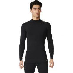 Adidas Koszulka męska Techfit Base Climawarm Mock czarna r. XL (AI3357). Białe koszulki sportowe męskie marki Adidas, m. Za 152,44 zł.