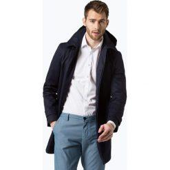 Płaszcze męskie: Finshley & Harding London – Płaszcz męski, niebieski