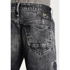 Denham CROP Jeansy Relaxed Fit destroyed denim. Czarne jeansy męskie regular Denham. W wyprzedaży za 353,15 zł.