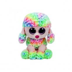 Maskotka TY INC Beanie Boos Rainbow - Kolorowy pudel 24cm 37145. Szare przytulanki i maskotki marki TY INC. Za 39,99 zł.