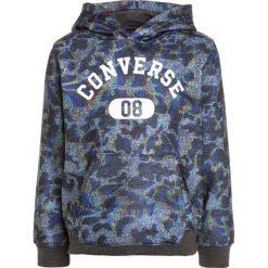 Converse ALL OVER Bluza z kapturem glitch. Szare bejsbolówki męskie Converse, z materiału, z kapturem. W wyprzedaży za 155,35 zł.